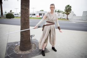 Rey from Star Wars Episode 7: The Force Awakens worn by Illuzions