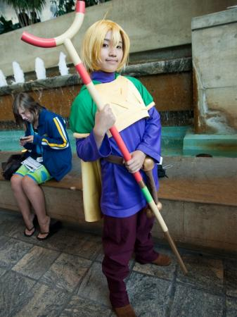 Ivan from Golden Sun worn by Kimmy