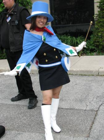 Trucy Wright from Apollo Justice: Ace Attorney