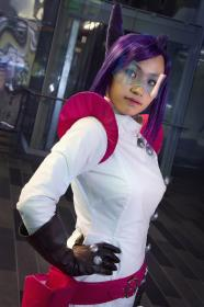 Aura Blackquill from Phoenix Wright: Ace Attorney - Dual Destinies  by Kimmy