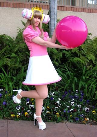 Queen of the Cosmos from Katamari Damacy worn by Lynleigh Love Meeko