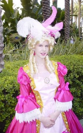 Marie Antoinette from Rose of Versailles worn by Lynleigh Love Meeko