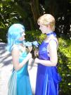 Princess Uranus from Sailor Moon Sailor Stars worn by Lynleigh Love Meeko