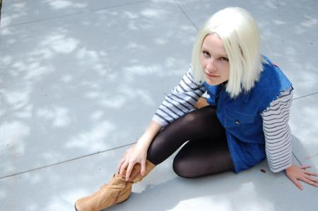 Android #18 from Dragonball Z worn by Melfina