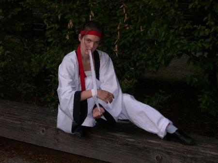 Sanosuke Sagara from Rurouni Kenshin worn by Haku