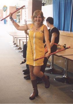 Selphie Tilmitt from Final Fantasy VIII worn by EnaChan