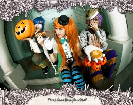 Mrs. Pumpkin from Vocaloid 2
