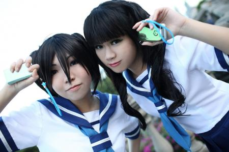 Takanashi Yomi from Black Rock Shooter worn by SFSakana
