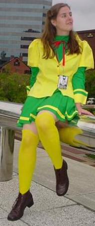 Maron Kusakabe from Kamikaze Kaitou Jeanne worn by Mako