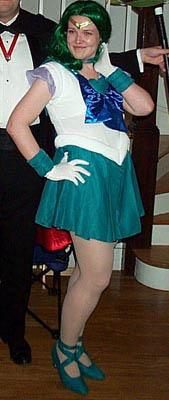 Super Sailor Neptune from Sailor Moon Super S worn by Koumori
