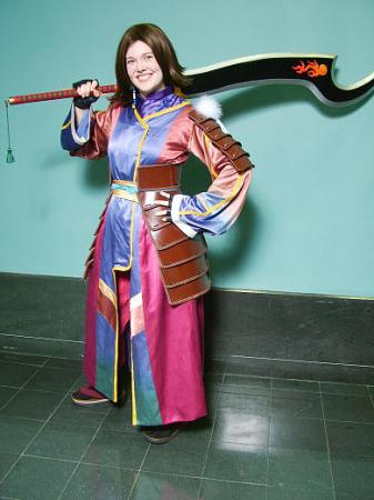Yuna from Final Fantasy X-2 worn by Koumori