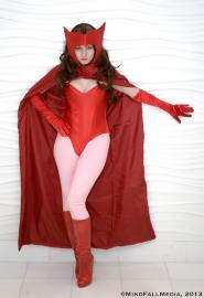 Scarlet Witch from Avengers, The worn by Catsiy