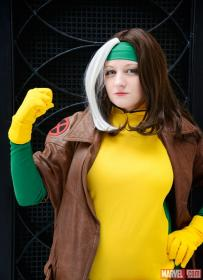 Rogue from X-Men worn by Catsiy