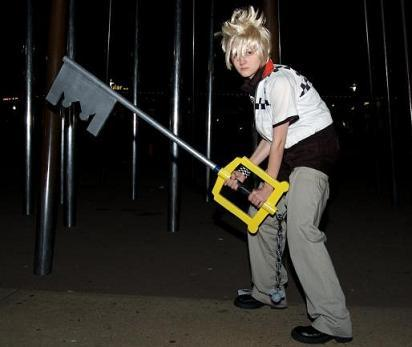 Roxas from Kingdom Hearts 2 worn by Catsiy