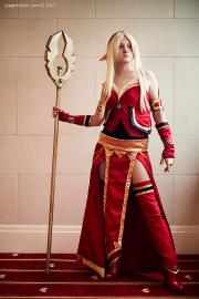 Blood Elf from World of Warcraft worn by Catsiy