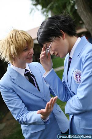 Kyoya Ootori from Ouran High School Host Club worn by liddo-chan