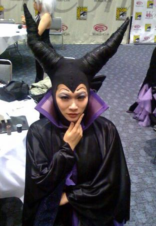 Maleficent from Sleeping Beauty worn by liddo-chan