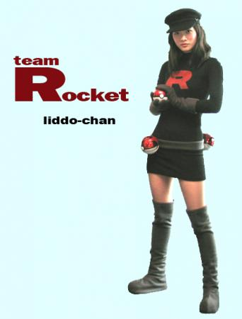 Team Rocket Member from Pokemon worn by liddo-chan