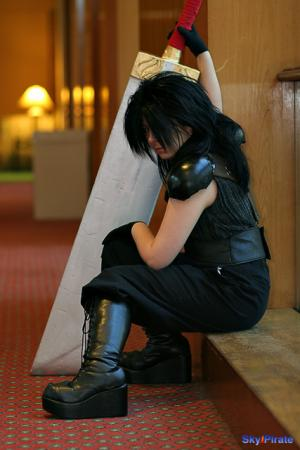 Zack Fair from Final Fantasy VII: Crisis Core worn by Hiiragi