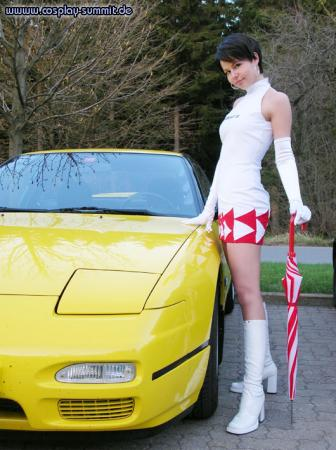 Reiko Nagase from Ridge Racer Series worn by C-chan