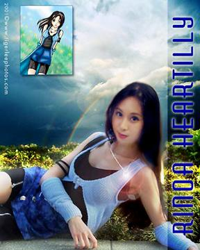 Rinoa Heartilly from Final Fantasy VIII worn by Angel Wings Rinoa
