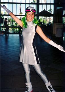Charmy from Dance Dance Revolution worn by Mandy Mitchell