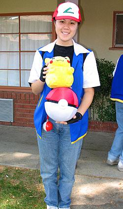 Ash Ketchum / Satoshi from Pokemon worn by Mandy Mitchell