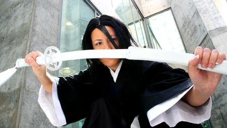 Rukia Kuchiki from Bleach worn by Mandy Mitchell