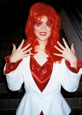 Kimber from Jem and the Holograms worn by Mandy Mitchell