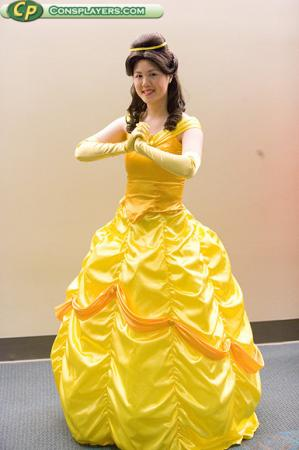Belle from Kingdom Hearts worn by Mandy Mitchell