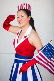 USO Girl from Captain America