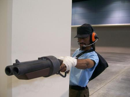 Scout from Team Fortress 2 worn by Purple Flames