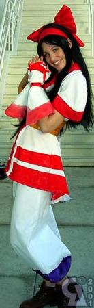 Nakoruru from SNK vs. Capcom: The Match of the Millennium