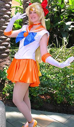 Sailor Venus from Sailor Moon worn by Maryssa