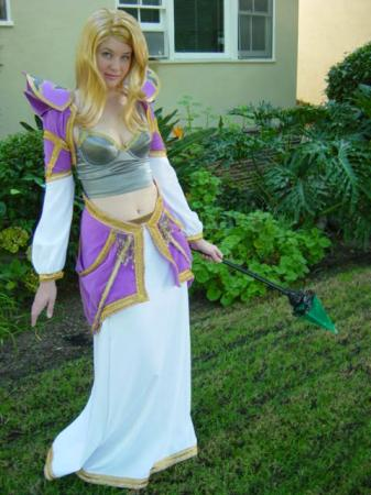 Jaina Proudmoore from World of Warcraft worn by Maryssa