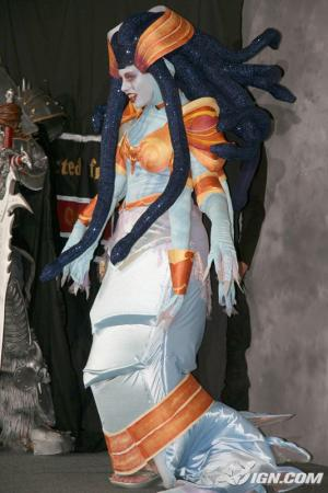 Lady Vashj from World of Warcraft worn by Maryssa