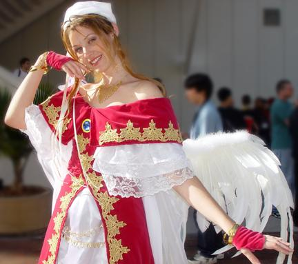 Belldandy from Ah My Goddess worn by Maryssa