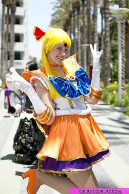 Sailor Venus from Sailor Moon Seramyu Musicals worn by Maryssa