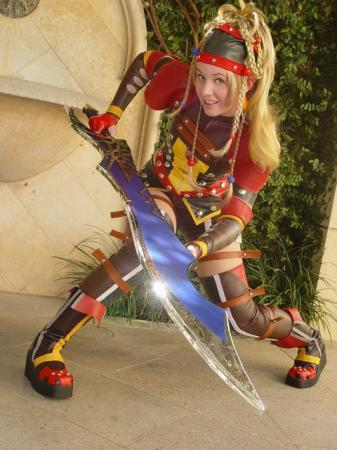 Rikku from Final Fantasy X-2 worn by Maryssa