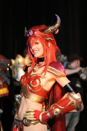 Alexstrasza from World of Warcraft worn by Maryssa