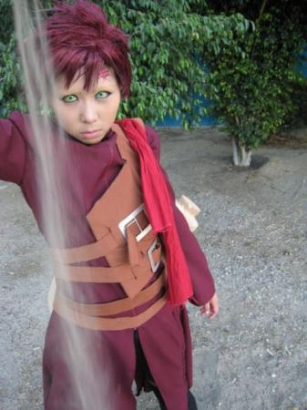 Gaara from Naruto Shippūden worn by Masako