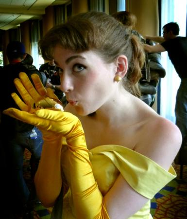 Belle from Disney Princesses worn by Sillywhims