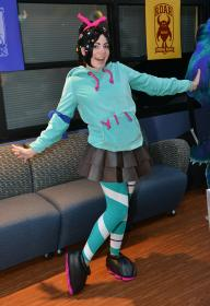 Vanellope Von Schweetz from Wreck-It Ralph by TwiliteSea
