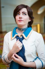 Elizabeth from Bioshock Infinite  by TwiliteSea