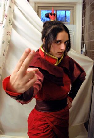Azula from Avatar: The Last Airbender (Worn by CyberBird)