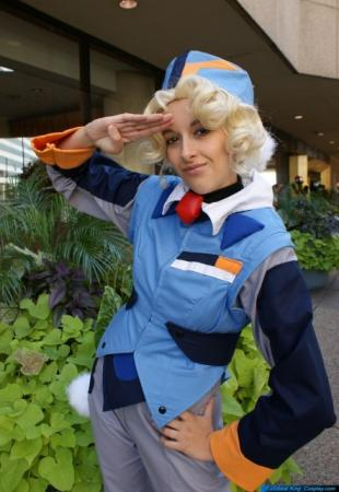 Mihoshi from Tenchi Muyo worn by CyberBird