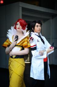 Royce from Transistor by CyberBird