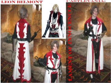 Leon Belmont from Castlevania: Lament of Innocence