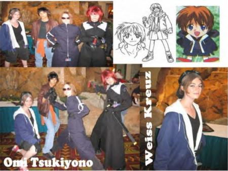 Omi Tsukiyono from Weiss Kreuz worn by Yuki