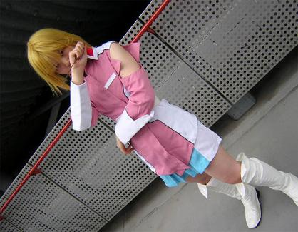 Stellar Loussier from Mobile Suit Gundam Seed Destiny